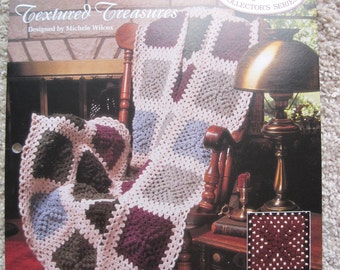 Crochet Pattern - Textured Treasures - Vintage 1993