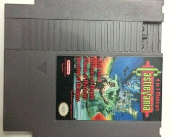 Castlevania 4 in 1 NES Multicart