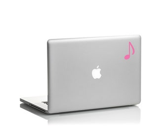 Music Note Vinyl Decal for Laptops, Tablets, Cars, Windows, Walls and more!