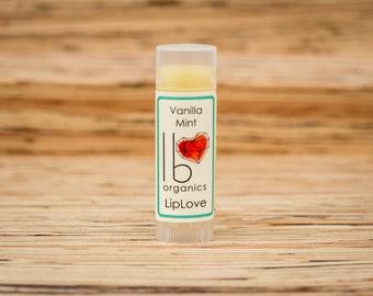 Organic Lip Balm // Vanilla Mint