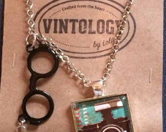Nerdy Camera Necklace