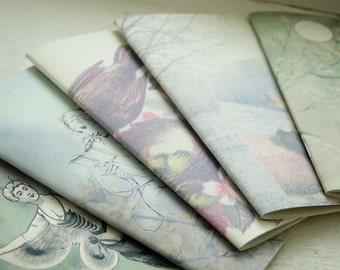 Wild Simplicity Daybook-small notebooks *new design* recycled, handmade