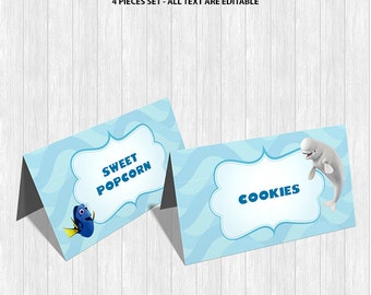 Finding Dory Food Labels