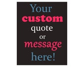 Custom Poster Design Print Sign