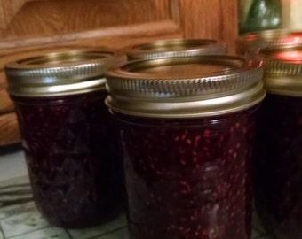 Sweet Sistahs Home Made Wild Raspberry Jam, Jelly