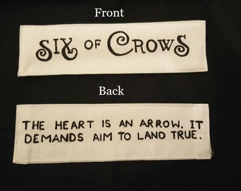 Six of Crows Fabric Bookmark