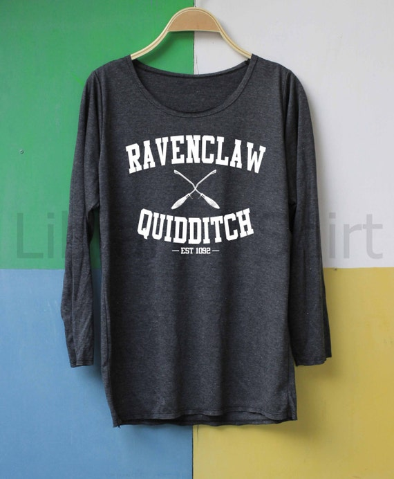 Ravenclaw Quidditch Shirt Harry Potter Shirt by LibraryOfShirt