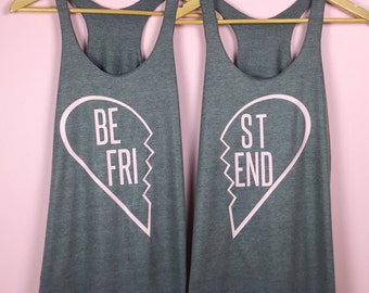 Best Friend Gifts. Best Friend Shirts. Best Friend Tanks. Best Friend Tank Tops. Best Friend Shirt - Set of 2 Shirts. Best Friends Gifts.