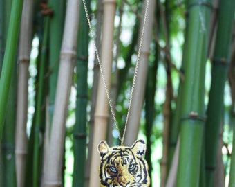 Necklace Tiger yellow