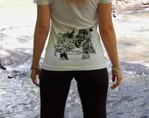 """Zentangle design baby """"Lotus"""" Yoga pants"""