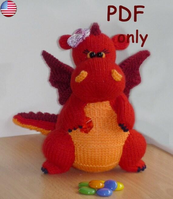 Dragon Amigurumi Eyes : Dragon amigurumi knitting pattern