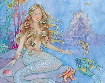 Little Mermaid Personalized Kids Books