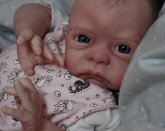 CUSTOM MADE REBORN!  Paige ooak baby lifelike fake art artist Doll