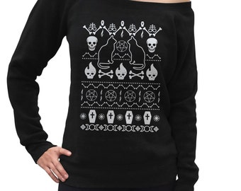 Occult sweater | Etsy