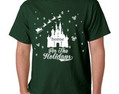 Home For The Holidays Disney Christmas Family Shirts for Men