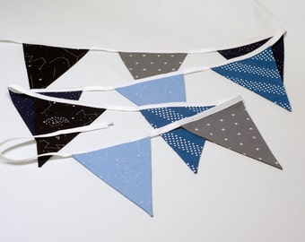 Fabric Bunting - Nursery Decorations - Fabric Banner - Baby Shower Decorations