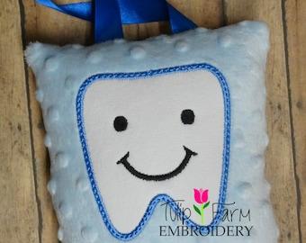 Tooth Fairy Pillow - Custom Tooth Fairy Pillow - Luxurious Blue Minky Tooth Fairy Pillow - Tooth Fairy Pillow Boy - Tooth Fairy Pillow