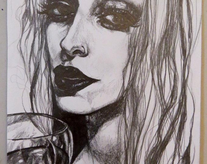 Portrait Drawing #1 ORIGINAL ARTWORK