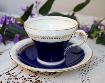 Aynsley Tea Cup and Saucer, Aynsley Bone China, Aynsley England, Vintage Tea Cup and Saucer, Tea Party Decor, Bridal Shower Decor,