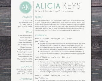 resume template professional package mac or pc for word creative modern - Resume Templates Word Mac