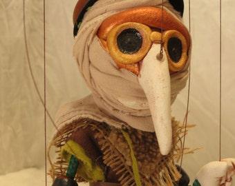 Plague Doctor - marionette puppet