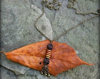 Autumn Woods Oil Diffusing Necklace