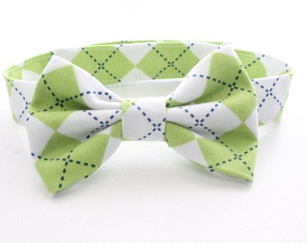 Baby Bow tie, boys cake smash outfit, Baby boy bow tie, bowtie, Boys Bow Tie, Boys Bow Tie, photo prop, baby photo props, green argyle