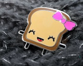 Enamel Pin Mrs. Little Bread Slice!!!