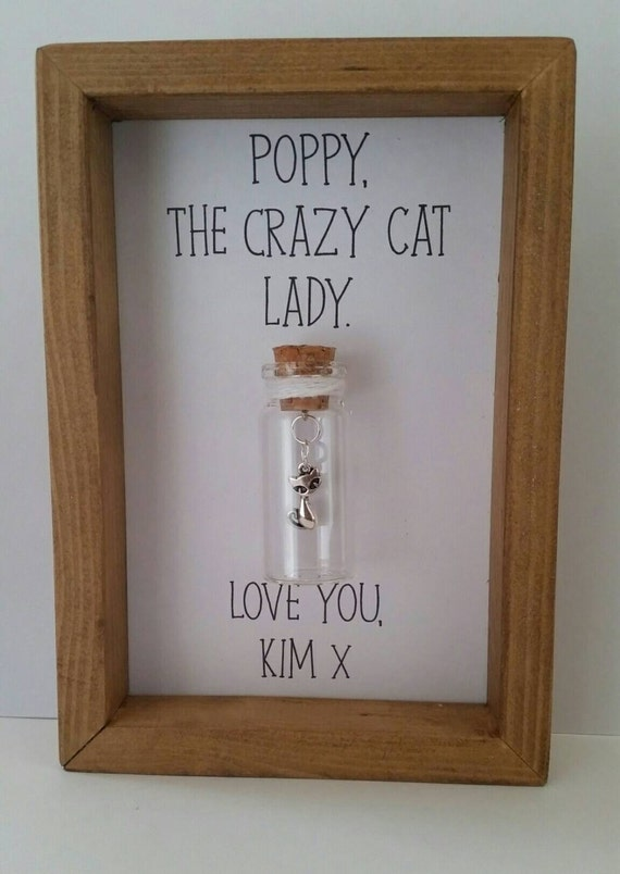 Crazy Cat Lady Gifts For Cat Lover Cat Themed Gifts Cat