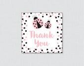 Ladybug Baby Shower Print...