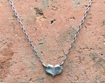 Tiny Heart Big Love Necklace.