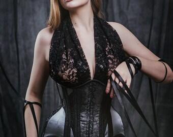 Butterfly underbust corset