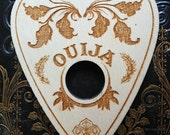 Ouija board planchette, decoration, paranormal, occult, gypsy, witchcraft, home decor