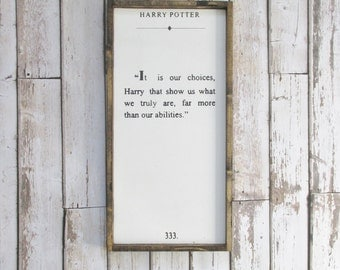 """Shop """"harry potter quotes"""" in Home & Living"""