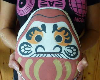 Decorative cushion / plush Daruma