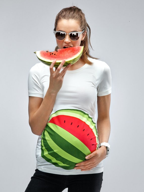 My Watermelon Bump Maternity T Shirt Mamagama Pregnancy