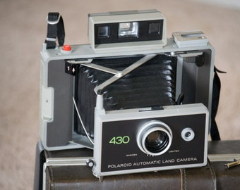 Polaroid 430 Land Camera- Vintage