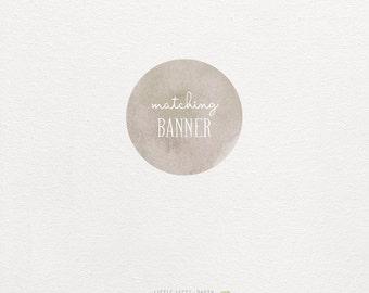 Custom Banner.  Custom designed to match my invitations. Digital Party Printables.