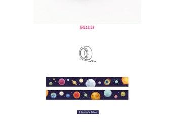 Washi Tape 10m Galaxy SM212123