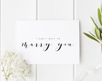 I Can't Wait To Marry You Card See You At The Altar Card, Groom Wedding Day Card, Bride Wedding Day Card, Card For Groom, Card For Bride