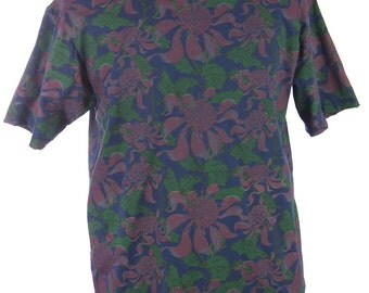 The All Over Print T-shirt - Waratah