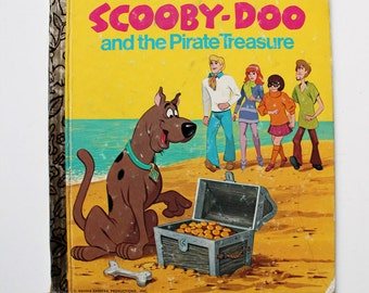 Hanna-Barbera's Scooby Doo and the Pirate Treasure Book 1974