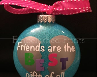 Best Friend Christmas Ornament