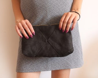 Black Evening Clutch / Black bag - Women's bag / Black clutch / Evening clutch purse - evening bag