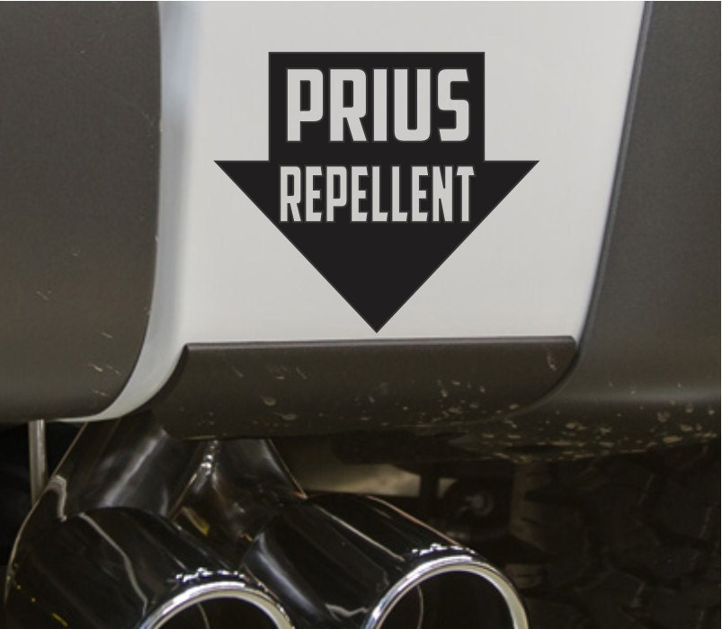 Prius Repellent Funny Bumper Sticker Vinyl Decal Jdm Dope Euro