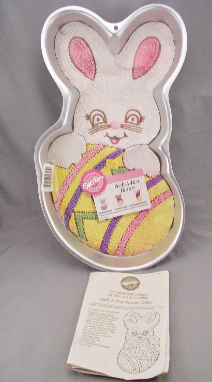 Peek A Boo Bunny Cake