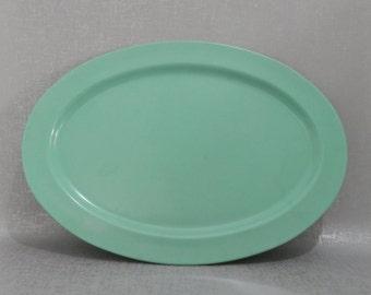Mallo-Ware Mint Green Serving Platter