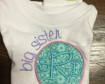 Monogrammed Sibling Shirt