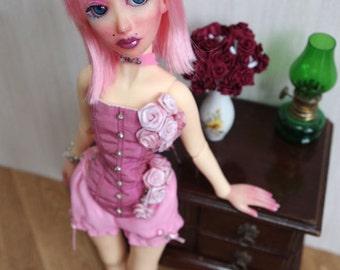 """BJD art doll """"Mademoiselle Rose"""" fullset, new body"""