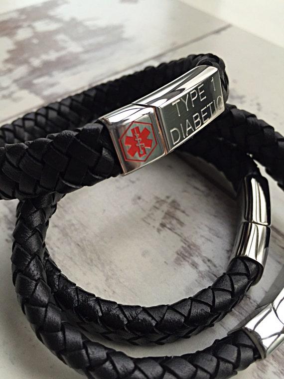 Medical Alert Bracelet Personalized Id Bracelet By